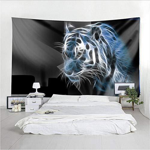 MRQXDP muur opknoping tijger patroon afdrukken wandtapijt home decoratie vellen dames strand cover badpak deken tafelkleed yoga mat