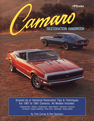 Compare Textbook Prices for Camaro Restoration Handbook  HPBooks 758 11th Edition ISBN 0075478013753 by Sessions, Ron