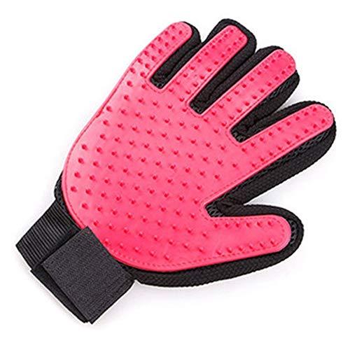 YUNGYE Gummi-Hundehaustierbürste-Handschuh Deshedding Leichte leistungsfähige Haustierpflege-Handschuh-Hundebad-Katzen-Reinigungs-Versorgungsmaterialien Haustier-Handschuh-Hundekämme