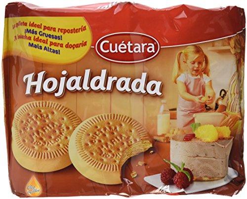 Cuétara - Galletas Hojaldrada - 600 g - [pack de 5]