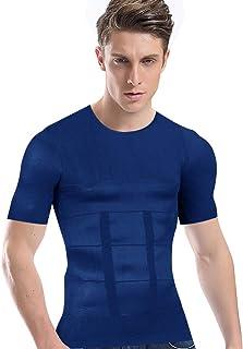 加圧シャツ メンズ 加圧インナー コンプレッションウェア ダイエット 加圧式脂肪燃焼Tシャツ 半袖 スポーツウェア 補正下着 姿勢矯正
