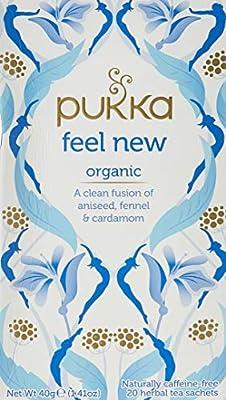 Pukka Organic Herbal Tea Detox 20 Tea Bags from Prunelax