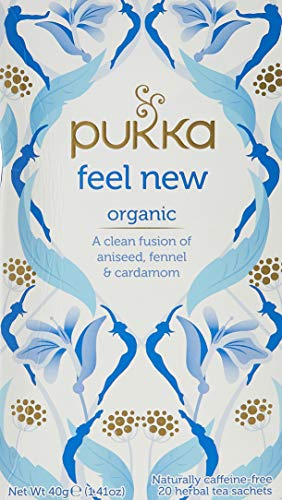 Prunelax Pukka Herbal Teas Detox Organic Aniseed Fennel and Cardamom...