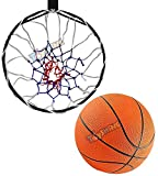 Toyshine Professional Heavy Duty Basketball Stand with net and 7 no Basketball (SSTP)