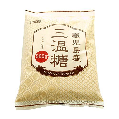 ムソー 鹿児島産 三温糖 500g 5袋