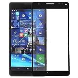 YOFEE MMC Pantalla Frontal AYSMG Lente de Cristal Externa de Microsoft Lumia 950 XL (Negro) (Color : Black)
