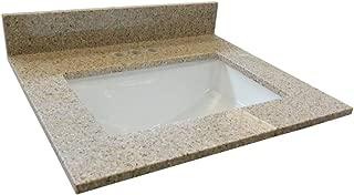 Design House 563239 Granite Vanity Top, Golden Sand