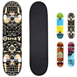 Osprey Absolute Anfänger Double Kick Trick Skateboard, 78,7 x...