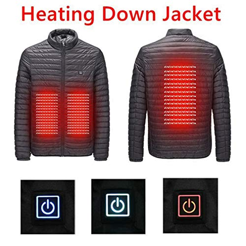 Verwarmde jas, Hot Winter Smart USB-interface elektrische thermostaat onder katoenen verwarmingsmanchet