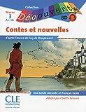 BD Les contes et nouvelles de Maupassant - Niveau 3 (A2/B1) - Lecture Découverte - Livre + CD