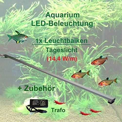Aquarium LED-Beleuchtung 180 cm inkl. Trafo, LED-Leuchtbalken für Pflanzenaquarien, LED Pflanzenlicht