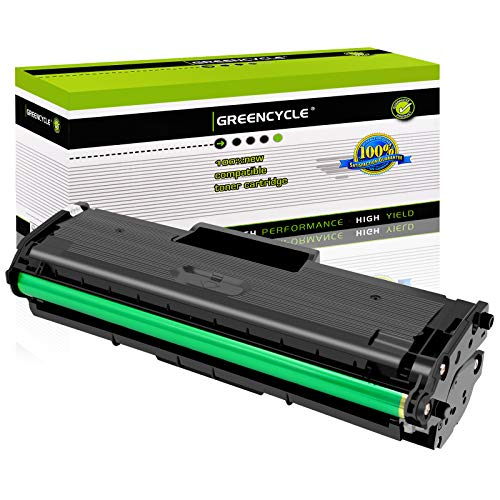 GREENCYCLE 1500 Pages per Toner Cartridge Replacement Compatible for Samsung MLT-D101L MLT D101L D101S Used in ML-2165W SCX-3400F SCX-3405FW SF-760P Printer (Black, 1-Pack)
