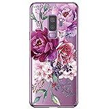 Hülle Compatible with Samsung Galaxy S9 Transparent Ultra Slim Handyhülle TPU Case Stoßdämpfend Bumper Pattern Handytasche Cover für Galaxy S9 schutzhülle (14, Galaxy S9)