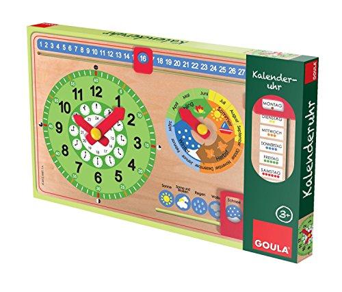 Jumbo Jeux d51319 – Calendrier Horloge GOULA, Jeux et Puzzles