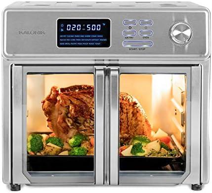 Kalorik 26 QT Digital Maxx Air Fryer Oven with 9 Accessories Roaster Broiler Rotisserie Dehydrator product image