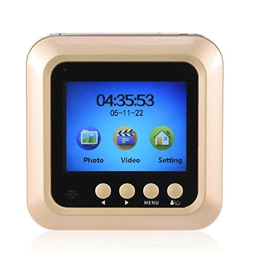 Visor de mirilla de puerta, 2,4'TFT LCD Visor de mirilla de puerta inteligente Visor de mirilla LCD de alta definición de 160 °