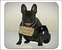 滑り止めラバーゲーミングマウスパッドユーモアかわいい面白い犬マウスマット