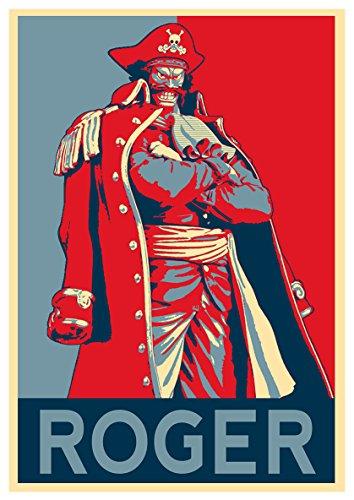 Instabuy Poster One Piece Propaganda Roger - A3 (42x30 cm)