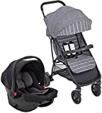 Graco Breaze Lite i-Size Travel System (Pushchair & Car Seat, Birth to 3 Years Approx, 0-15kg) with Raincover,...
