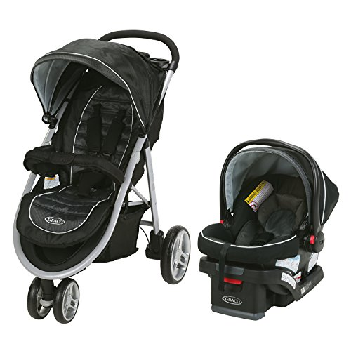 Graco Aire3 Travel System | Includes The Lightweight Aire3 Stroller and SnugRide...