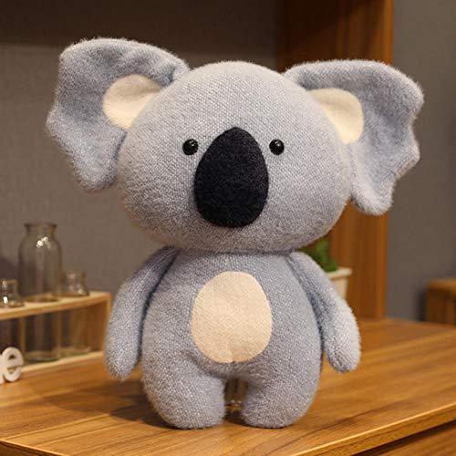 JMKHY Cute Koala Dog Doll Children s Plush Toy Sleeping Pad Pillow Sofa Home Car Decoration Plush Toy Birthday Gift-30CM_A