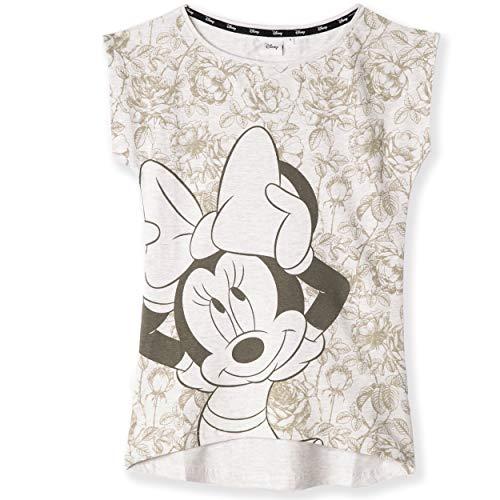 Disney Minnie & Mickey Mouse Character Original Camiseta de algodón para mujer, adolescente S-XL