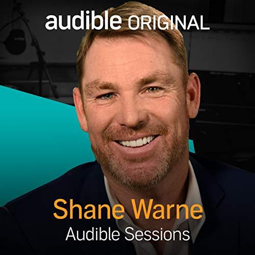 Shane Warne audiobook cover art