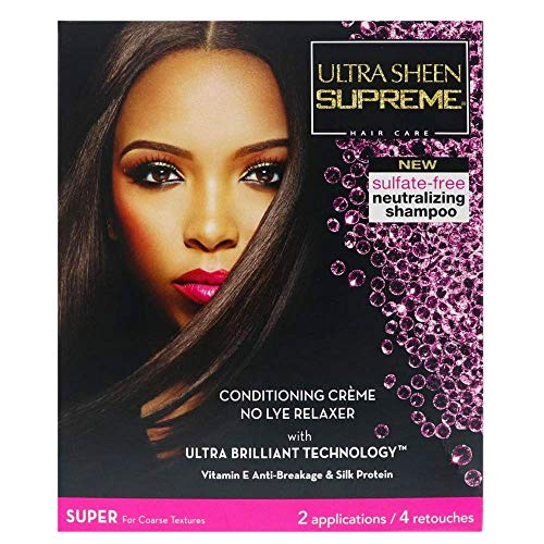 Ultra Sheen Supreme No Lye Relaxer Kit Super