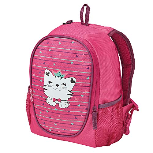 herlitz 50032822 Kindergartenrucksack Rookie Princess Cat, 1 Stück