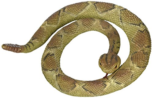 Rubber Replica Diamondback Rattlesnake Snake 36 Inch Reptile by Phil Seltzer