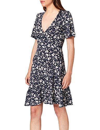 ESPRIT Damen 031EE1E319 Kleid, 400/NAVY, S