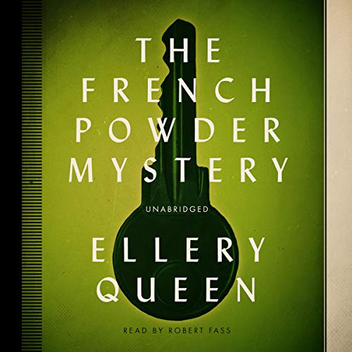 The French Powder Mystery Audiobook By Ellery Queen cover art