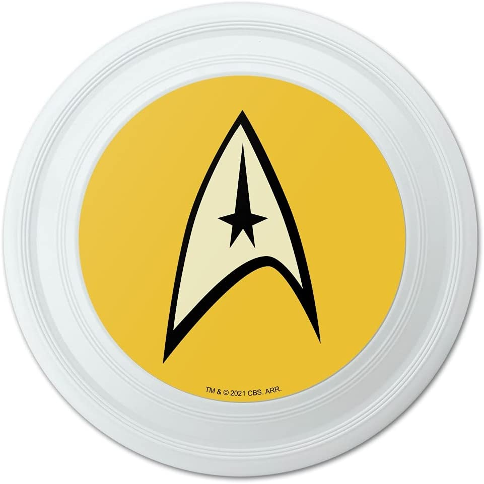 GRAPHICS MORE Star Trek Free Shipping Cheap Bargain Time sale Gift Command Novelty Disc Flying Shield 9