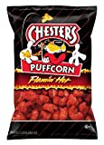 Chester's Cheese Puffcorn, Flaming Hot, 1.5 Ounce (Pack of 24)