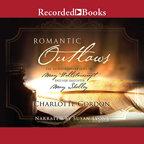 Romantic Outlaws audiobook cover art