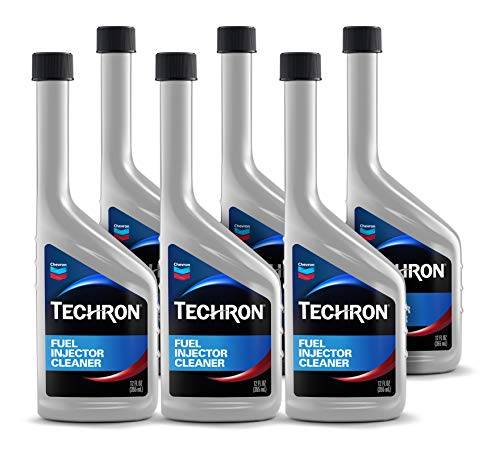 Chevron - 10055-CASE Techron Fuel Injection Cleaner - 12 oz, (Pack of 6)