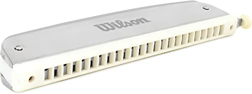 WILSON Changer Chromatic Mouth Organ Harmonica key C 24 Holes 48 Tones Read with Scale Changer