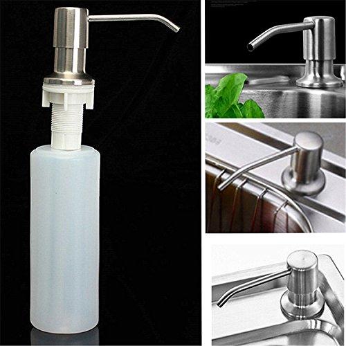 Bazaar Lotion de savon de réservoir de salle de bains de 350 millilitres sanitizer distributeur abs bouteille liquide