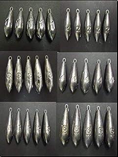 25 x 2 oz beach bomb gripper weights sea fishing