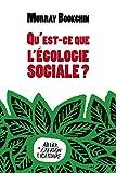 Qu'est-ce que l'écologie sociale ?