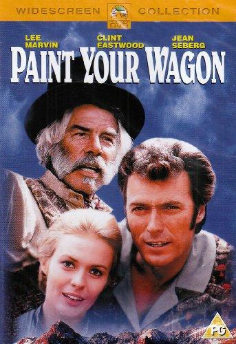 Paint Your Wagon (Region 2) -  DVD, Rated PG-13, Joshua Logan