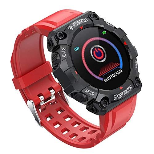 SHARRA Pulsera de Fitness IP67 Reloj Inteligente a Prueba de Agua de 1,3 Pulgadas con cronómetro Recordatorio de Mensaje con Pantalla táctil Reloj de Pulsera para Exteriores para Hombres y Mujeres