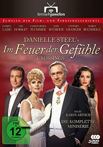 Im Feuer der Gefühle - Die komplette Miniserie nach Danielle Steels Crossings (Fernsehjuwelen) [3 DVDs]
