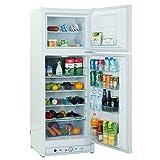 SMETA 110V/Gas Propane Refrigerator Fridge Up Freezer, 9.4...