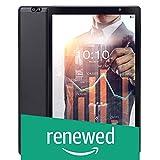 (Renewed) iBall iTAB BizniZ Tablet (10.1 inch, 32GB, Wi-Fi + 4G LTE + Voice Calling | Expandable Memory Up to 256GB), Coal Black