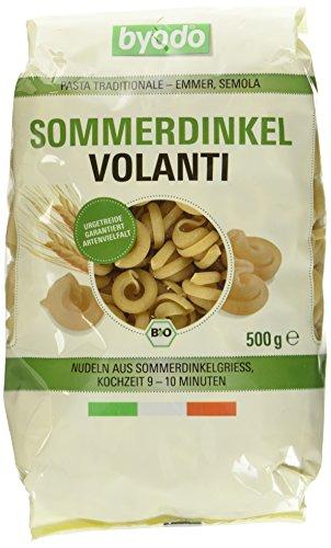 Byodo Sommerdinkel Volanti, semola, 6er Pack  (6 x  500 g) - Bio