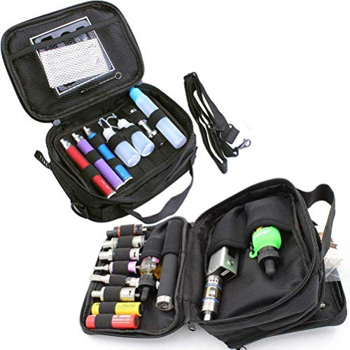 Empty Multi-Functional case Vape Carrying case Shoulder Bag((Black)