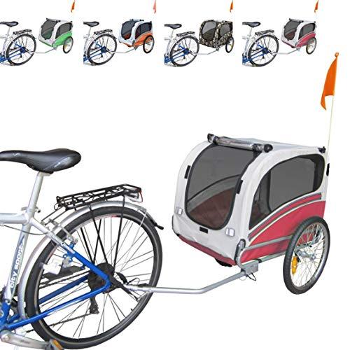 Remolque de Bicicleta para el Transporte de Perros