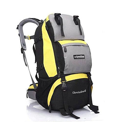 Professional prend en charge, sac à dos sac à dos outdoor Kit 42L l voyage d'escalade , yellow