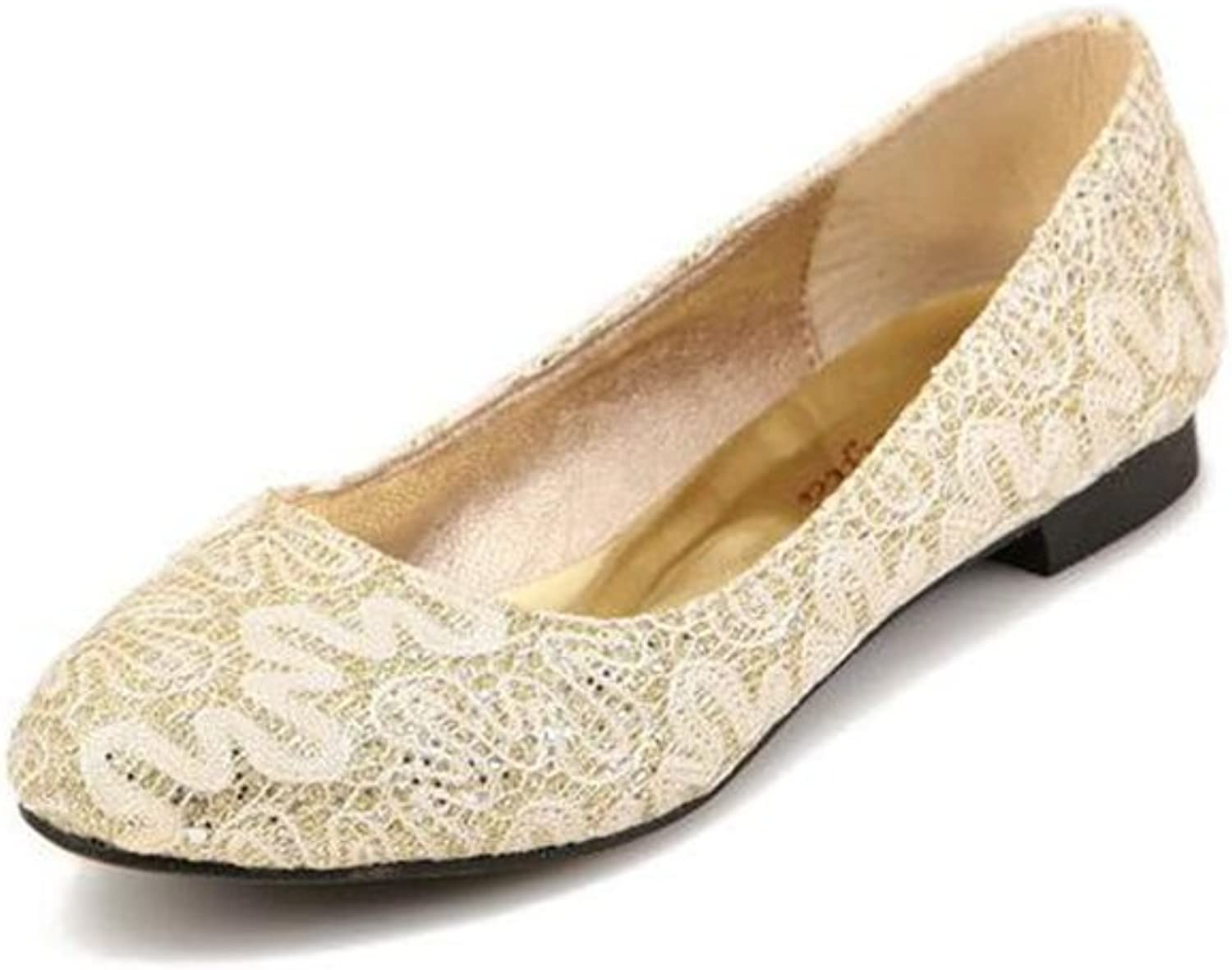 SUNNY Store Women Mary Jane Pumps Closed Toe Mid Heel Lace Wedding Bridal shoes